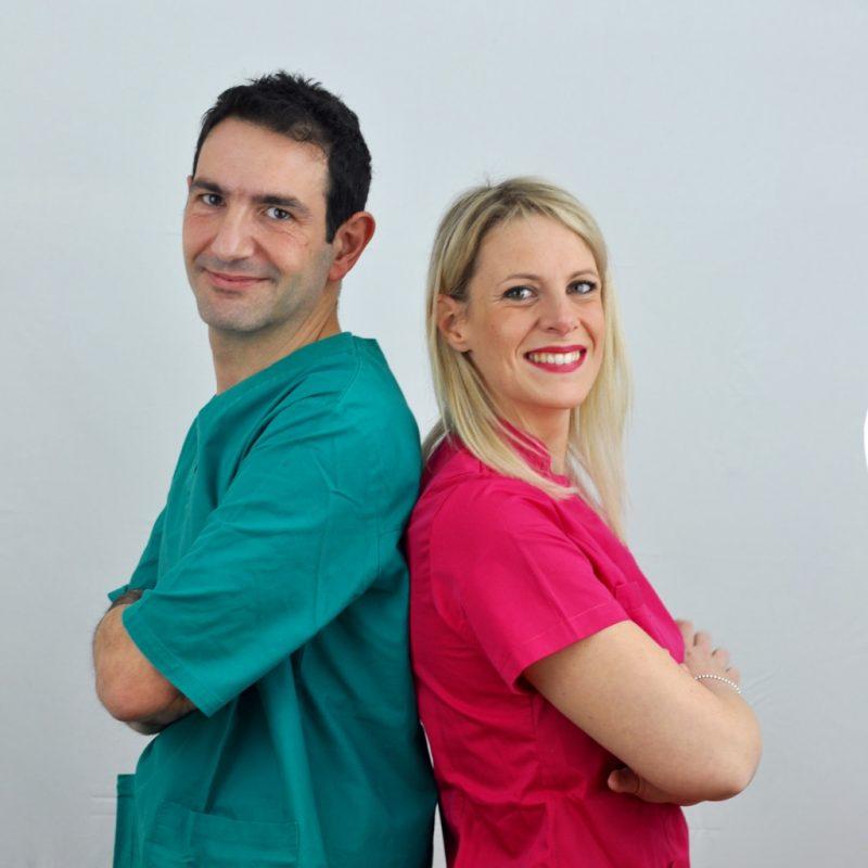 il team del centro di ortodonzia Invisalign provider